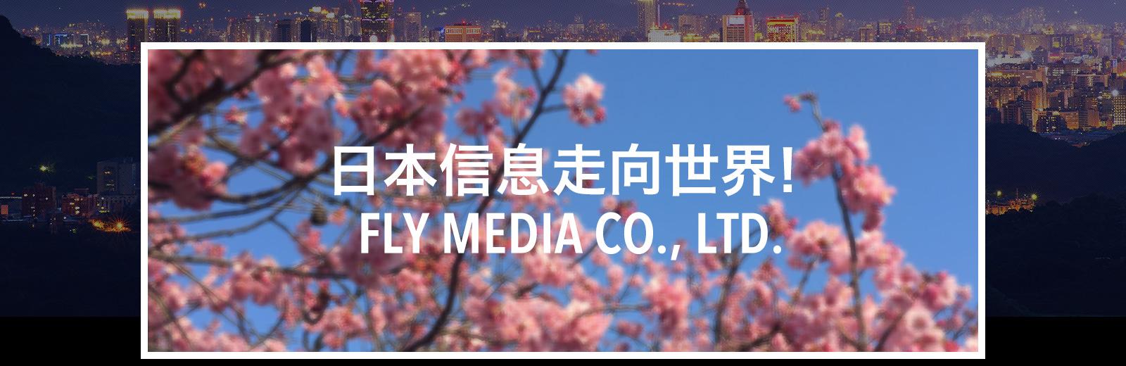 亚信息走向世界! FLY MEDIA CO.,LTD