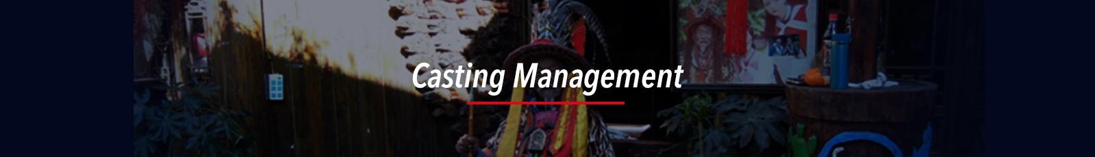 FLY MEDIA Casting Management