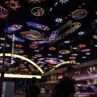 香港恒例のクリスマス・イルミネーション(尖沙咀東地区)