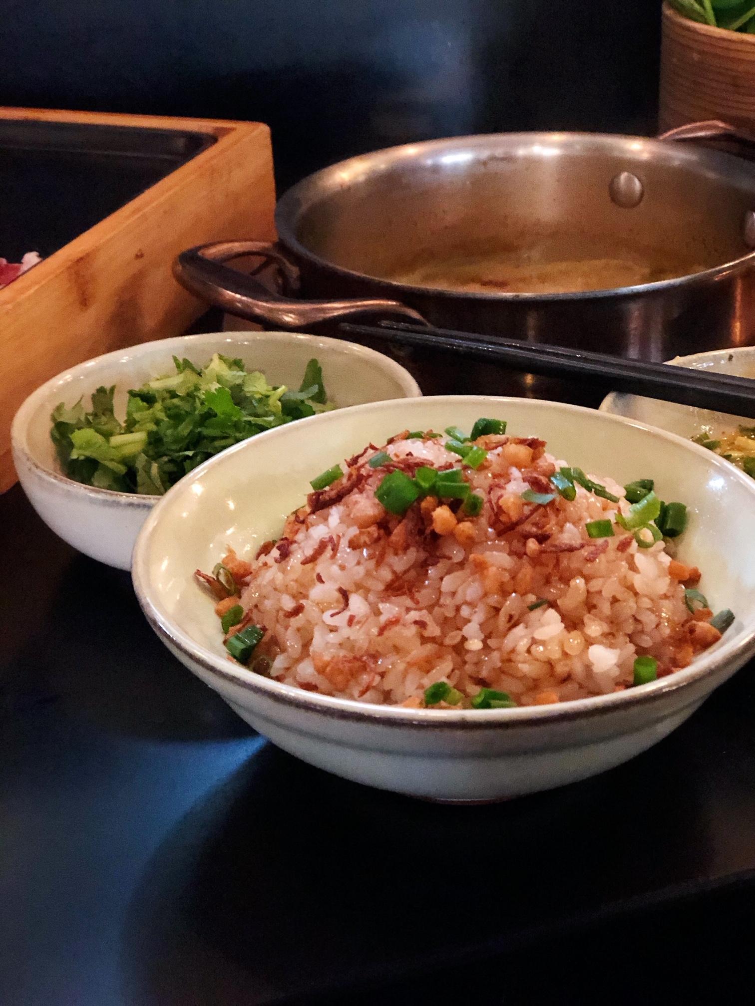 上海・猪油(ラード)がかかった香ばしいご飯
