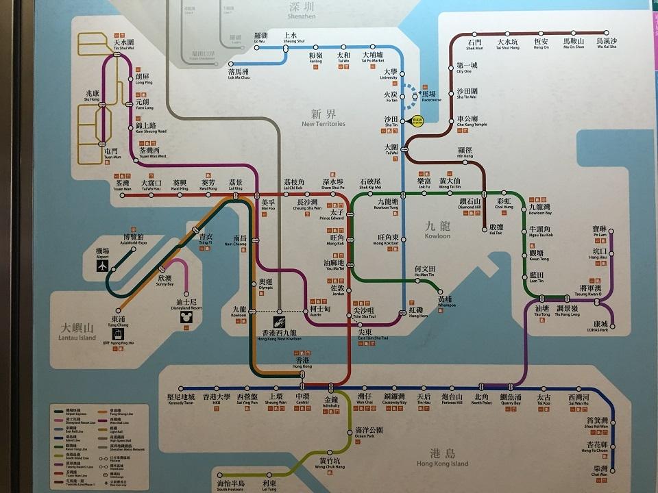香港啓徳駅オープン