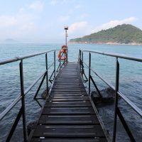 香港フォトジェニック・スポット~海と一体化できる西環泳棚