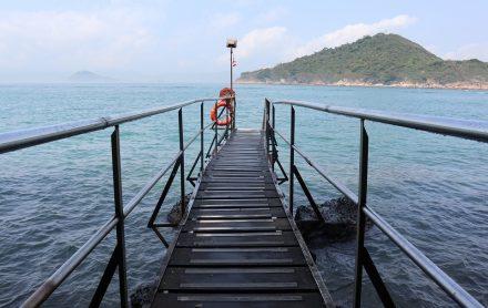 香港フォトジェニック西環泳棚