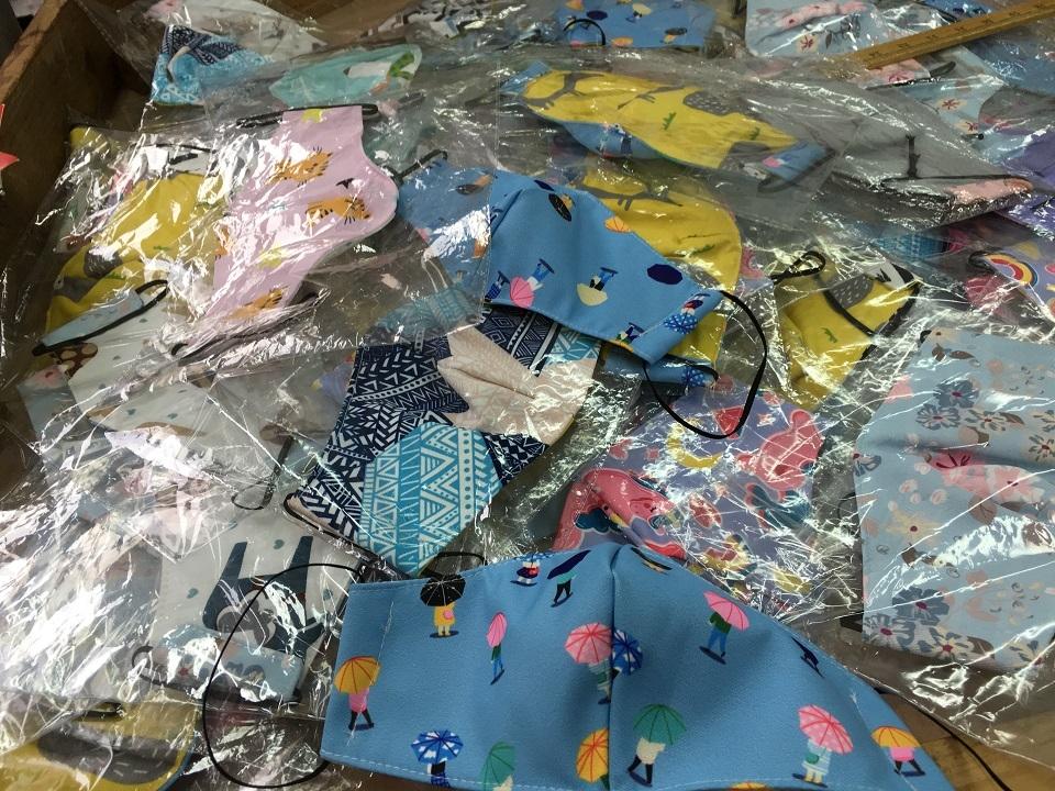 香港手作りマスク・シャムスイポー