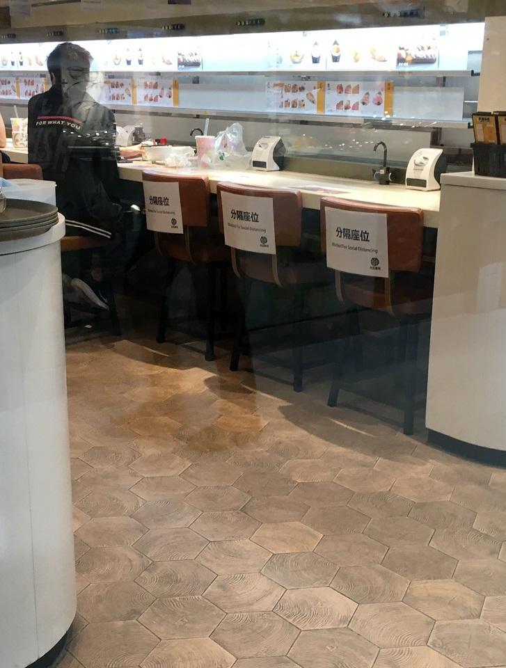 香港飲食店のコロナ対策