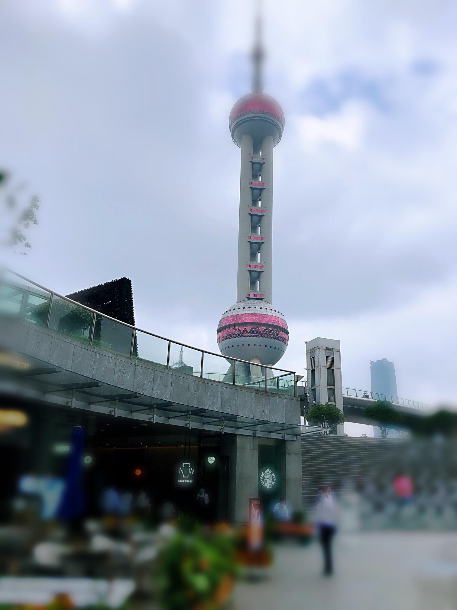 上海・上海のシンボルである東方テレビタワーの近くにで景色も抜群!