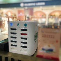 スマホ大国の必需品!必要な時に即充電で、ますます便利になるシェアバッテリー!