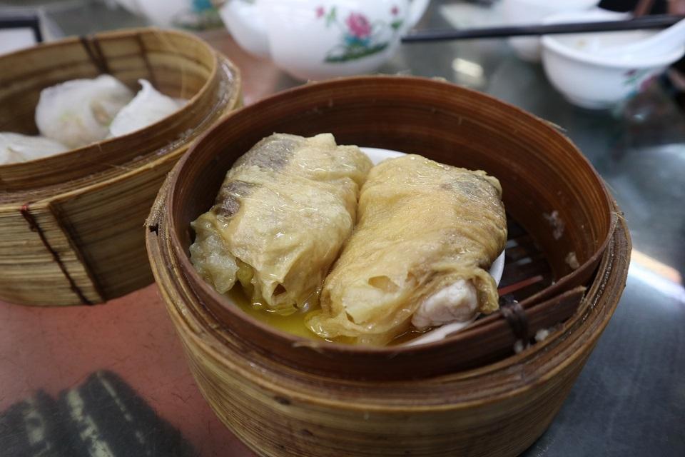 香港ワゴン式飲茶