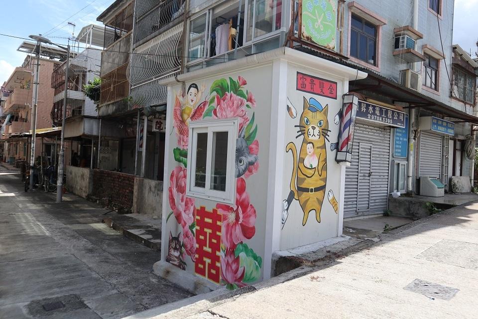 香港ウォールアート村