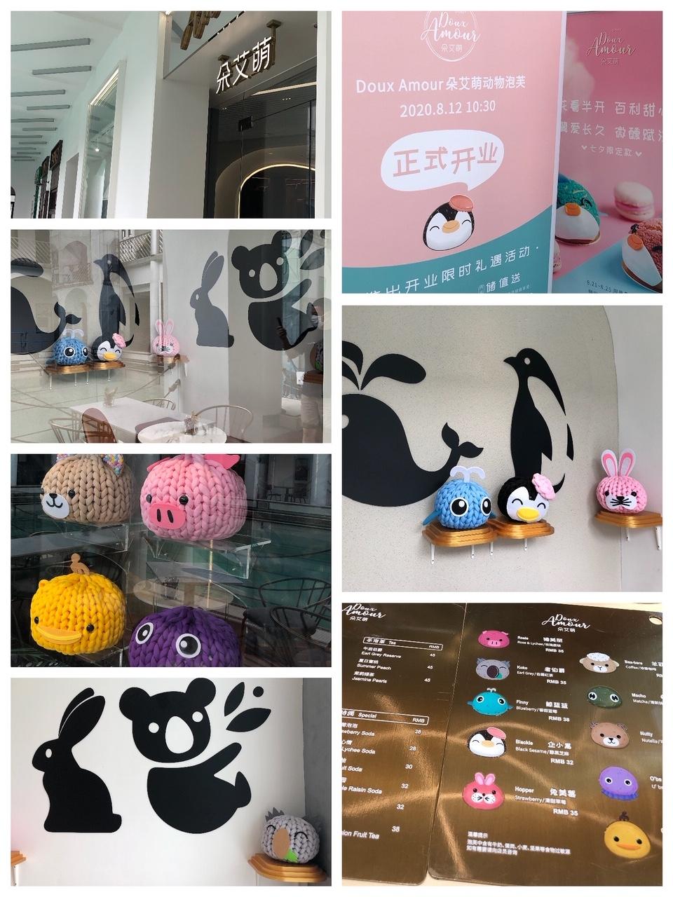 上海•SNSで話題のシュークリームを販売するスイーツ•カフェ