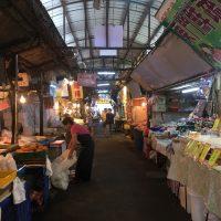 "台湾の伝統市場""東門市場""の現在の様子"
