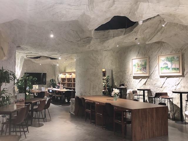 上海•本当に洞窟の中にいるような雰囲気のカフェ
