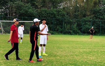 上海•熱血指導で、試合さながらの緊張感が漂う!