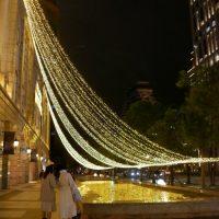 台北信義區のクリスマスイルミネーション その2