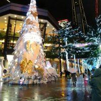 台北信義區のクリスマスイルミネーション