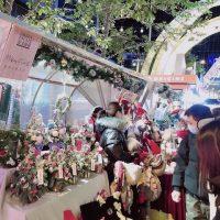 週末限定の上海・安義夜巷のクリスマスマーケットでクリスマス気分満喫!