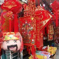 今年も真っ赤に色づいた福栄街(香港)