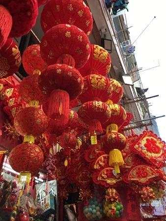 旧月前の福栄街(香港)