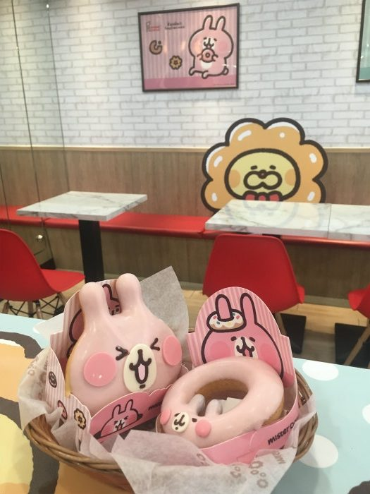 台湾ミスタードーナツはカナヘイとコラボ