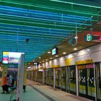 美しい台北の地下鉄駅をレポート