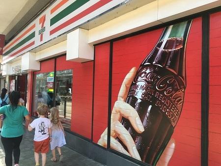 香港セブンxコーラのコンセプトストア