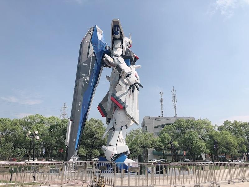 上海・羽付きガンダム