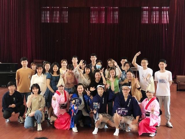 上海・みんなで楽しく阿波踊りワークショップ大成功