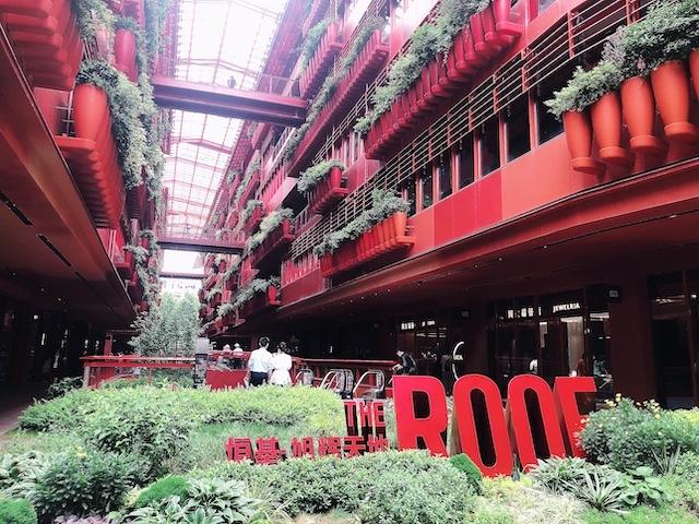 上海・人気撮影スポットのTHE ROOF