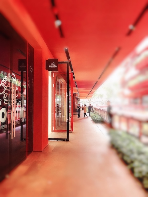 上海・アーケード型で開放感があふれる