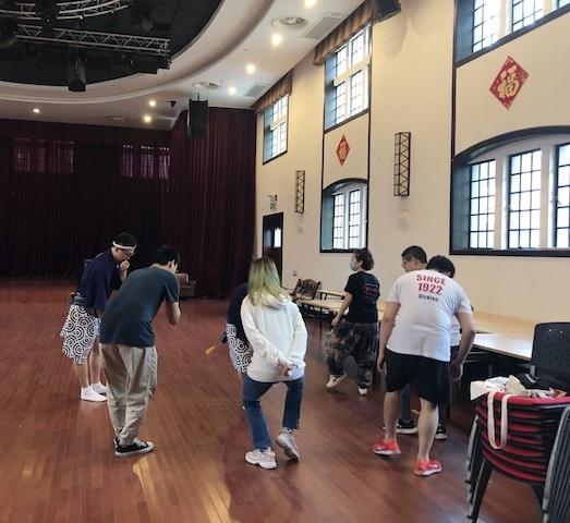 上海・男踊りは難易度が高い?