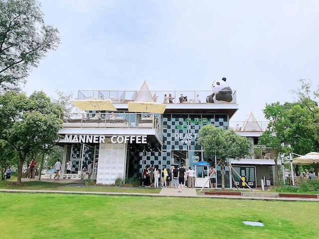 上海・パンダをテーマとしたカフェが期間限定で登場