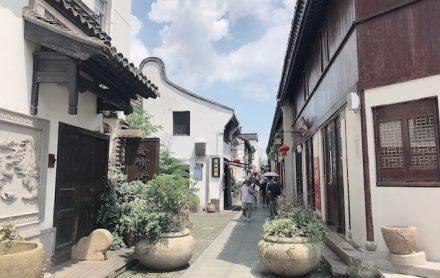 上海・川沙古鎮のたたずまい