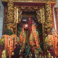 太陽の神を祀る寺で集中豪雨の終息を祈ってきた