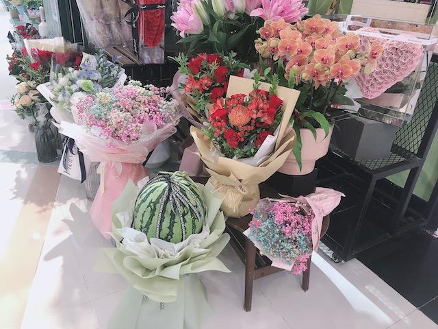 上海・プレゼントで欠かせない花束