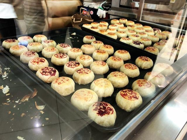 上海の定番「鮮肉月餅」